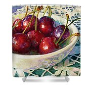 Cherries Jubilee Shower Curtain