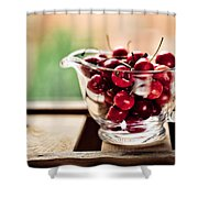 Cherries Shower Curtain