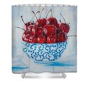 Cherrismatic Bowl Shower Curtain