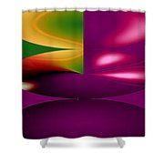 Cherry Shower Curtain