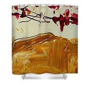Cherry Blosoms II Shower Curtain