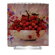 Cherry Bowl Shower Curtain