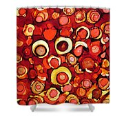 Cherry Tarts Shower Curtain