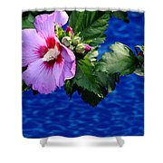 Cherry Throat Shower Curtain