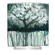 Fruit Tree #1 Shower Curtain