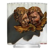 Cherubs Shower Curtain