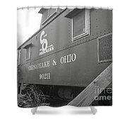 Chesapeake And Ohio Shower Curtain