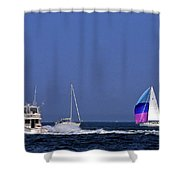 Chesapeake Bay Action Shower Curtain