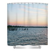 Chesapeake Bay - Piney Point Maryland Shower Curtain