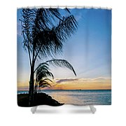Chesapeake Sunset - Full Color Shower Curtain
