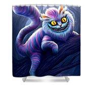 Cheshire Cat Shower Curtain