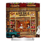 Cheskies Hamishe Bakery Shower Curtain