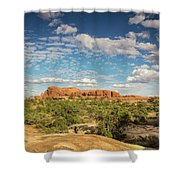 Chesler Colors Shower Curtain