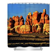 Chesler Park Sandstone Towers Shower Curtain