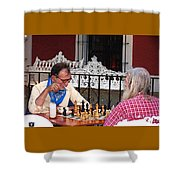Chess Shower Curtain