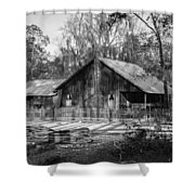 Chesser Island Homestead Shower Curtain