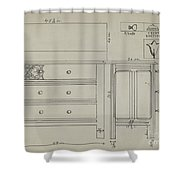 Chest Of Drawers Shower Curtain