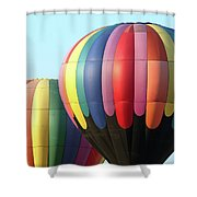 Chester County Balloon Fest 8765 Shower Curtain