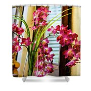 Chester House Flowers Shower Curtain