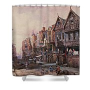 Chester Shower Curtain by Louise J Rayner