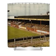 Chester - Sealand Road - Main Stand 1 - 1969 Shower Curtain