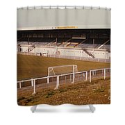 Chester - Sealand Road - Main Stand 2 - 1979 Shower Curtain