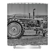 Chesterfield Tractor Shower Curtain