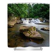 Chestnut Creek Falls  Shower Curtain