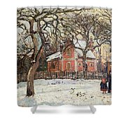 Chestnut Trees At Louveciennes Shower Curtain