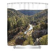 Chevelon Canyon Shower Curtain