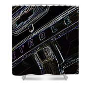 Chevrolet 10 Shower Curtain