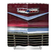 Chevrolet 17 Shower Curtain