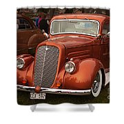 Chevrolet 1936 Shower Curtain