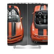 Chevrolet Camaro Convertible Concept 5  Shower Curtain
