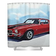 Chevrolet Camaro Z28 Shower Curtain