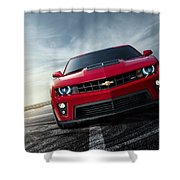 Chevrolet Camaro Zl1 2012 Shower Curtain