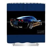 Chevrolet Corvette Z06 Shower Curtain