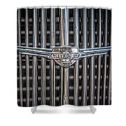 Chevrolet Grill Shower Curtain