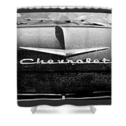 Chevrolet Hood 1 Shower Curtain