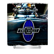 Chevrolet Hoodie Shower Curtain