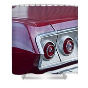 Chevrolet Impala Ss Taillight 2 Shower Curtain