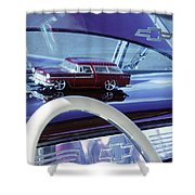 Chevrolet Nomad Toy Car Shower Curtain