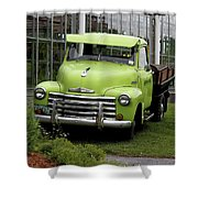Chevrolet Old Shower Curtain