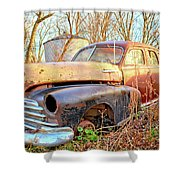 Chevrolet Relic Shower Curtain