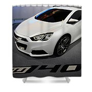 Chevrolet Tru 140s Concept Shower Curtain