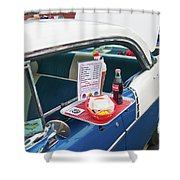 Chevy 2046 Shower Curtain