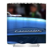 Chevy Blues Shower Curtain