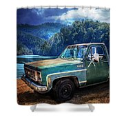 Chevy Bonanza Shower Curtain