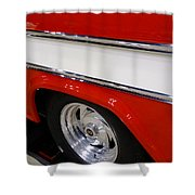Chevy Cameo 1957 Shower Curtain