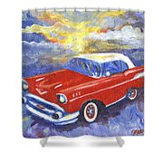 Chevy Dreams Shower Curtain